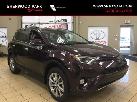 New 2017 Toyota RAV4 Limited All Wheel Drive 4 Door Sport Utility