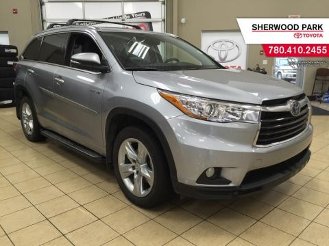 Certified Pre-Owned 2015 Toyota Highlander Hybrid Hybrid Limited All Wheel Drive 4 Door Sport Utility