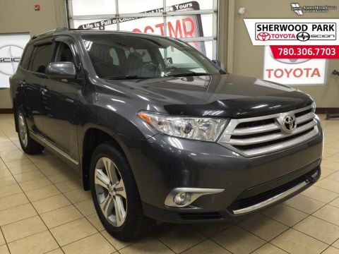 Pre-Owned 2012 Toyota Highlander Limited-REDUCED!! All Wheel Drive 4 Door Sport Utility