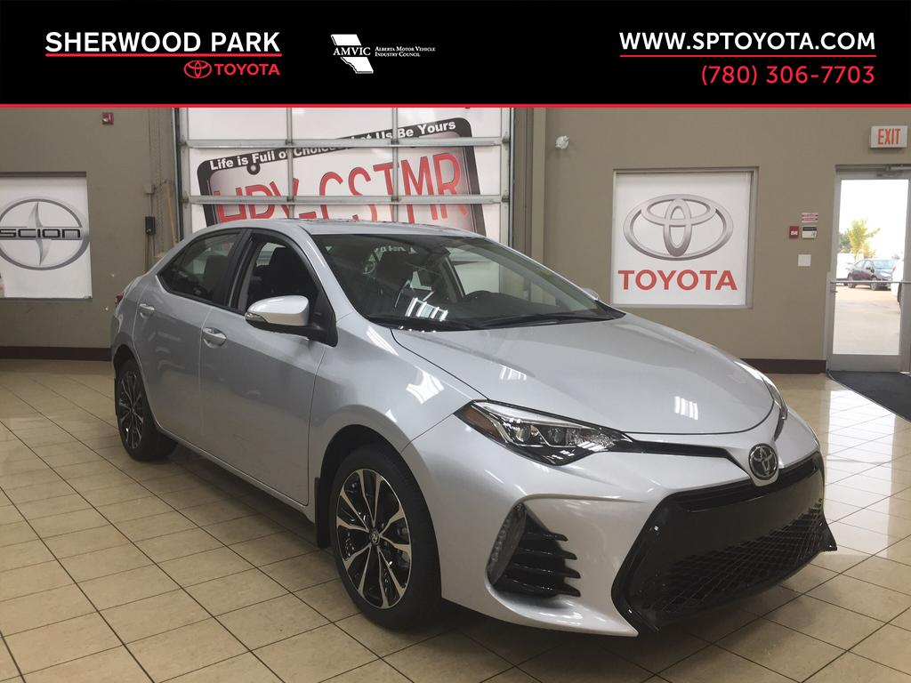 New 2018 Toyota Corolla SE Upgrade 4 Door Car in Sherwood Park #CO85418 | Sherwood Park Toyota