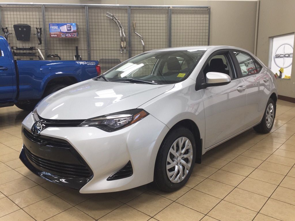 New 2018 Toyota Corolla Le 4 Door Car In Sherwood Park