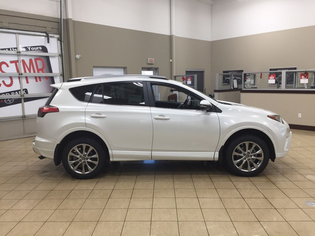 new 2018 toyota rav4 platinum 4 door sport utility in sherwood park ra87550 sherwood park toyota. Black Bedroom Furniture Sets. Home Design Ideas