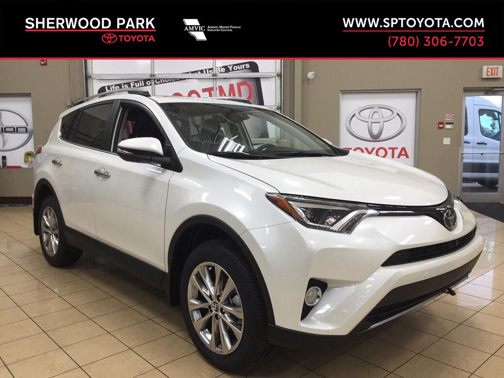 new 2017 toyota rav4 limited 4 door sport utility in sherwood park ra77617 sherwood park toyota. Black Bedroom Furniture Sets. Home Design Ideas