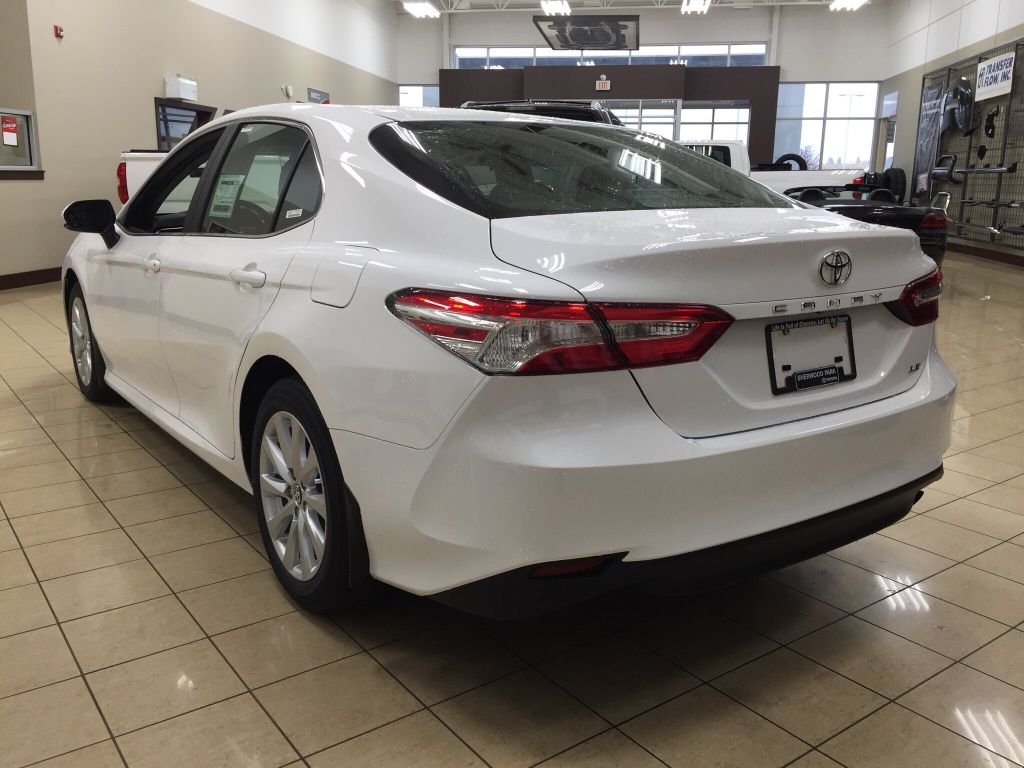New 2018 Toyota Camry Le 4 Door Car In Sherwood Park