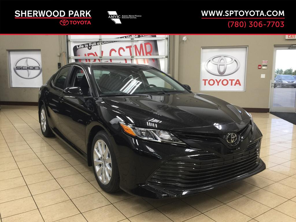 New 2018 Toyota Camry Le Upgrade 4 Door Car In Sherwood Park