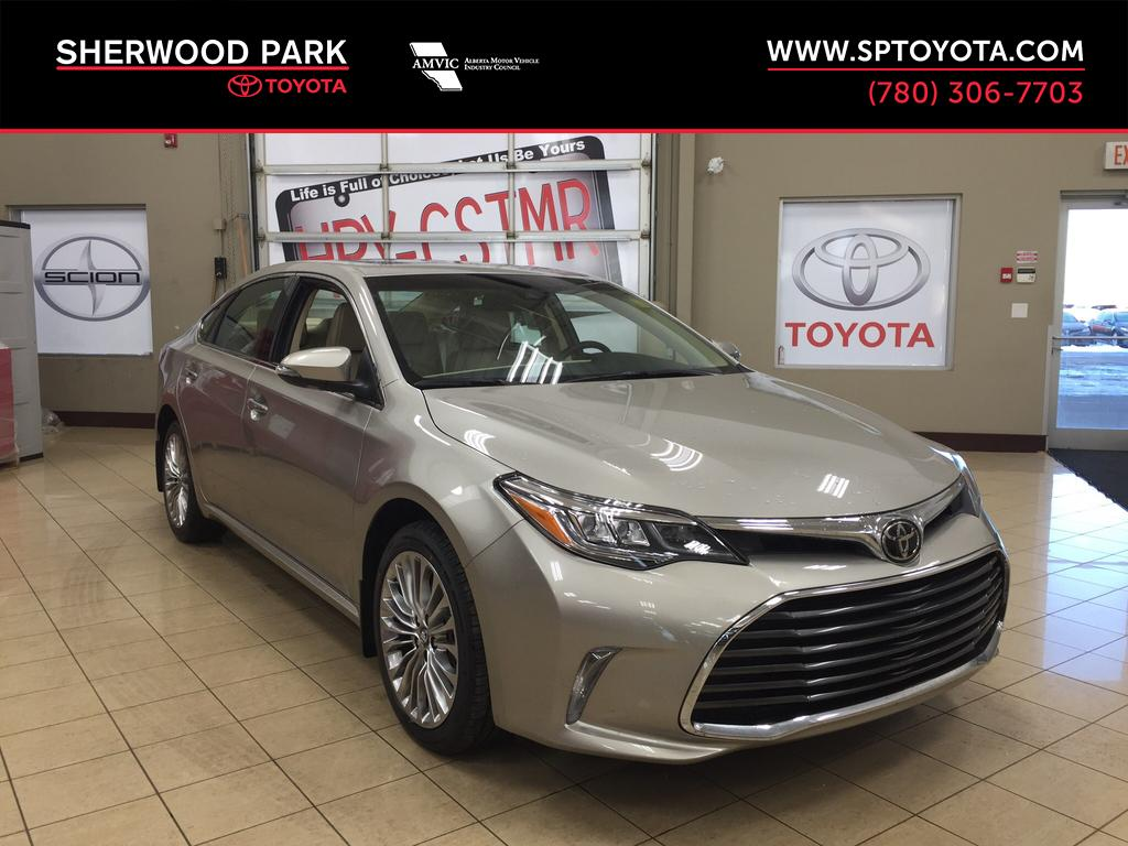 New 2018 Toyota Avalon Limited 4 Door Car In Sherwood Park Av88296