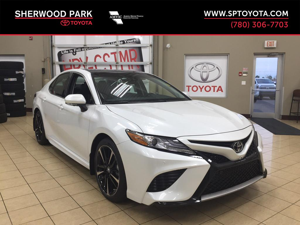 New 2018 Toyota Camry Xse 4 Door Car In Sherwood Park