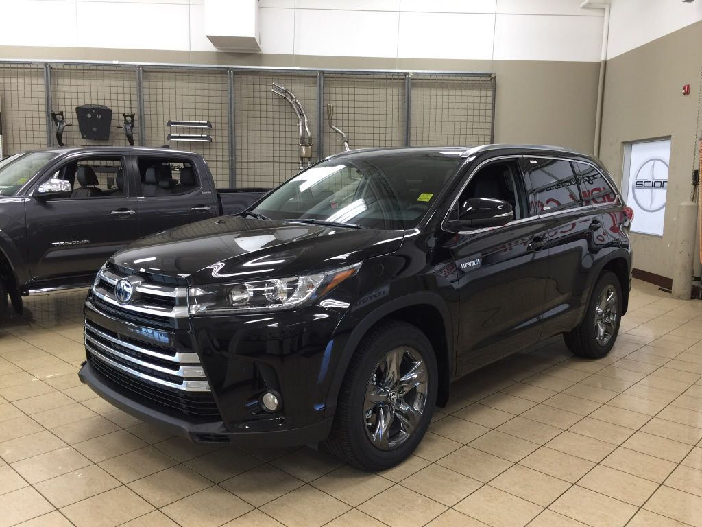 new 2017 toyota highlander hybrid limited 4 door sport utility in sherwood park hi71260. Black Bedroom Furniture Sets. Home Design Ideas