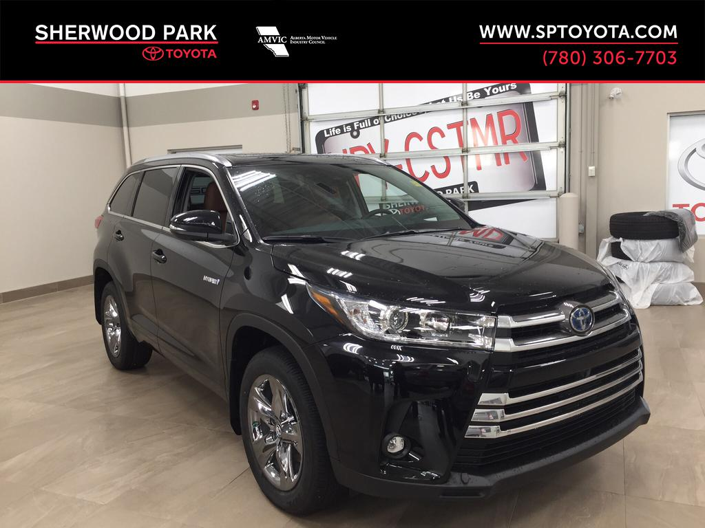 New 2019 Toyota Highlander Hybrid Limited All Wheel Drive 4 Door Sport  Utility