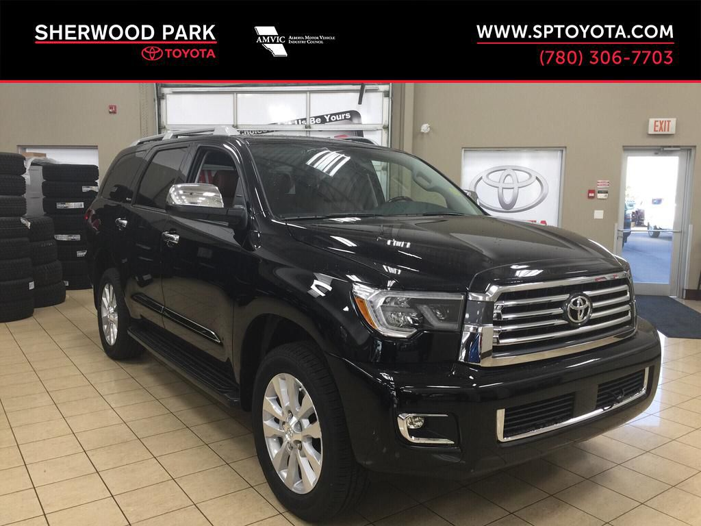 New 2019 Toyota Sequoia Platinum Four Wheel Drive 4 Door Sport Utility