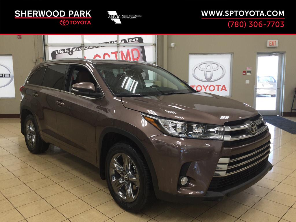 new 2017 toyota highlander limited 4 door sport utility in sherwood park hi76610 sherwood. Black Bedroom Furniture Sets. Home Design Ideas
