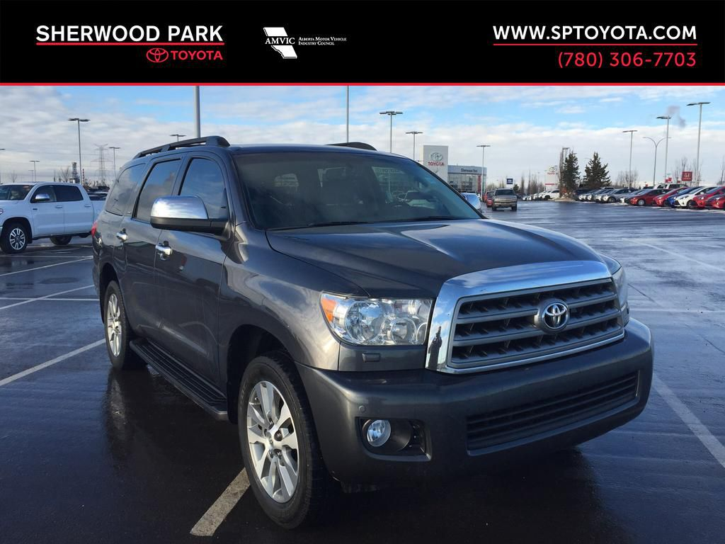 Certified Pre-Owned 2016 Toyota Sequoia Limited-Clean History!