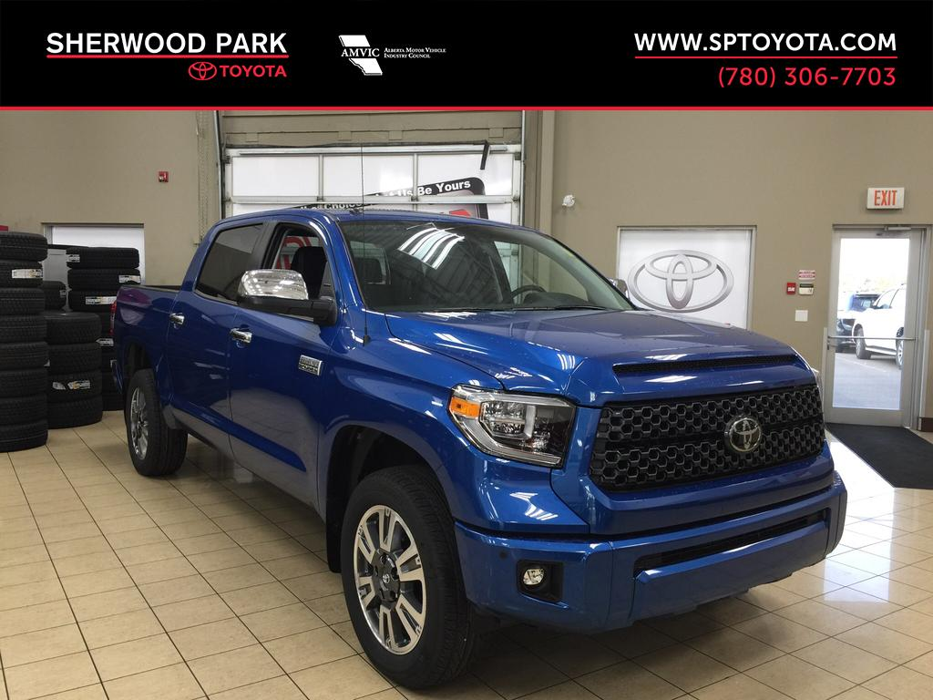New 2018 Toyota Tundra Platinum 4 Door Pickup In Sherwood