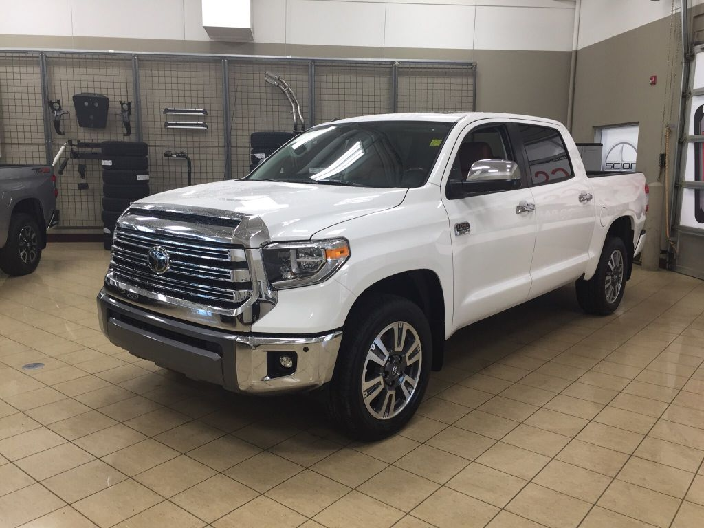 New 2018 Toyota Tundra 1794 4 Door Pickup In Sherwood Park