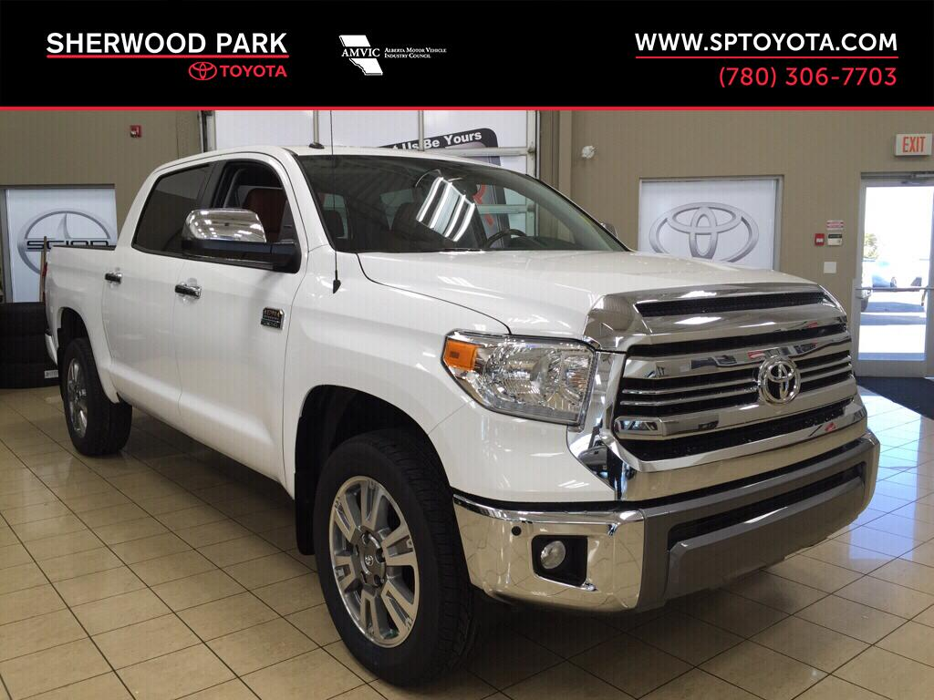 new 2017 toyota tundra 1794 4 door pickup in sherwood park tu75510 sherwood park toyota. Black Bedroom Furniture Sets. Home Design Ideas