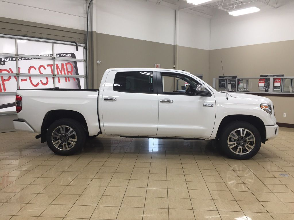 New 2018 Toyota Tundra Platinum 4 Door Pickup in Sherwood ...
