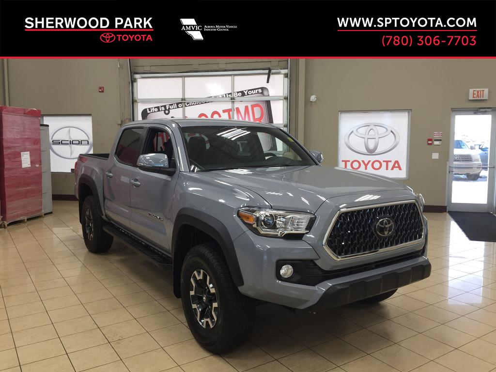 New 2018 Toyota Tacoma Trd Off Road 4 Door Pickup In