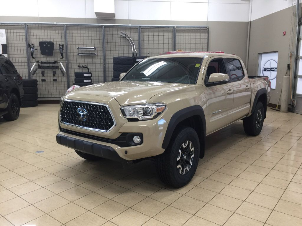 New 2018 Toyota Tacoma Trd Off Road 4 Door Pickup In Sherwood Park Ta88138 Sherwood Park Toyota