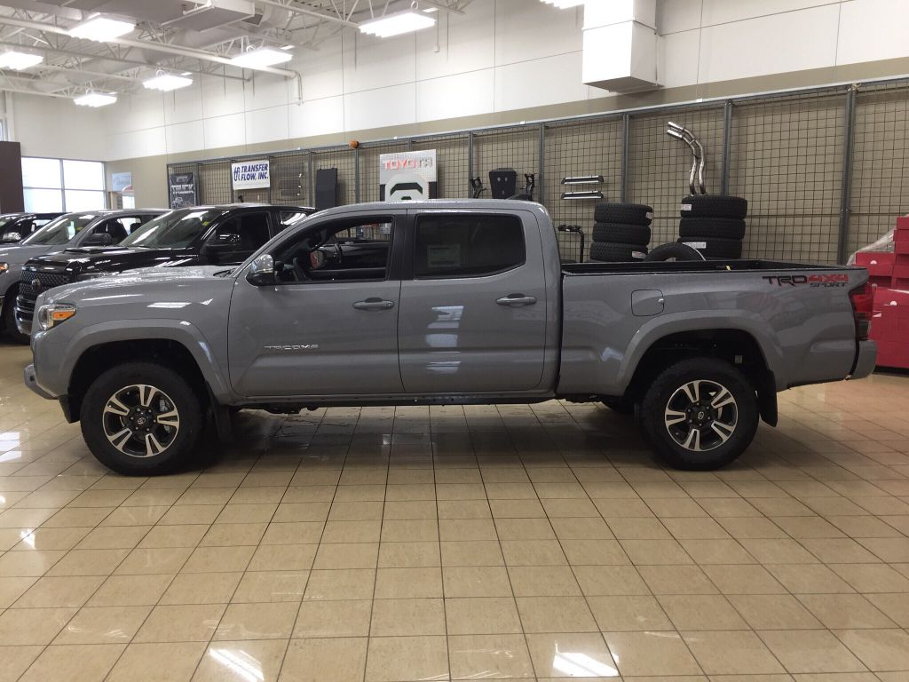 New 2018 Toyota Tacoma Trd Sport 4 Door Pickup In Sherwood Park Long Bed Fuel Hostage Wheels