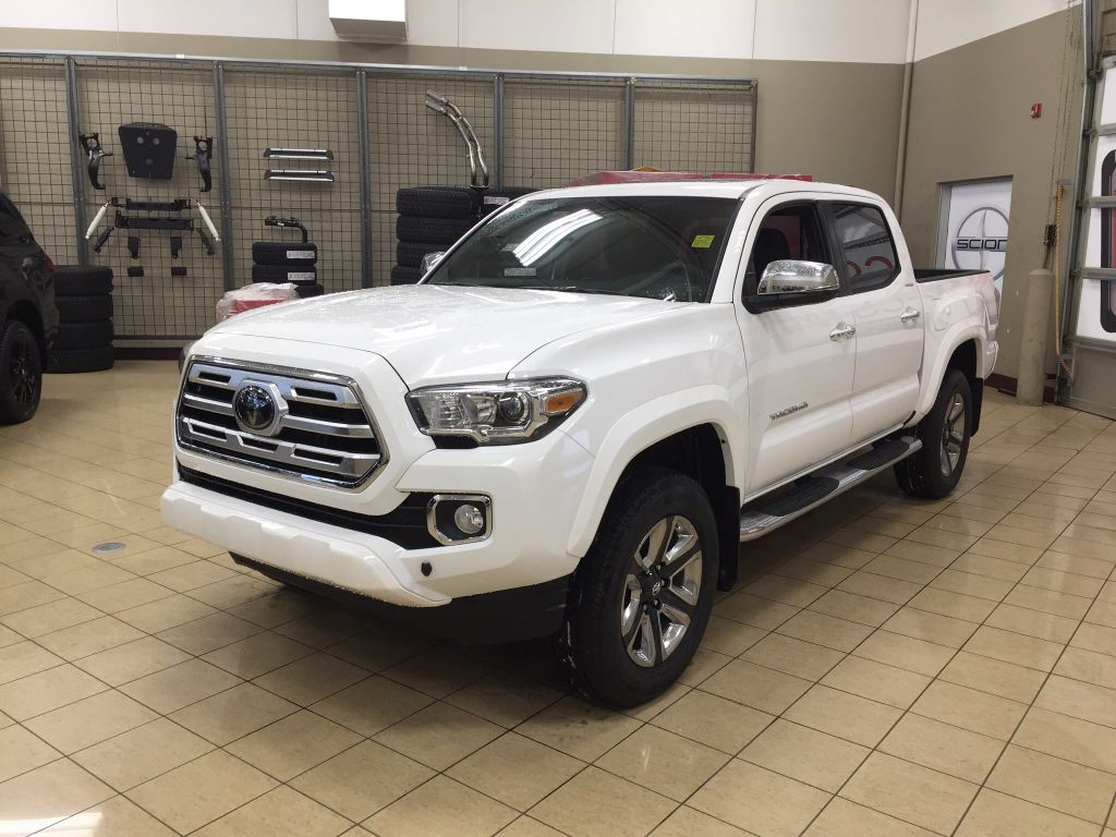 New 2018 Toyota Tacoma Limited 4 Door Pickup In Sherwood