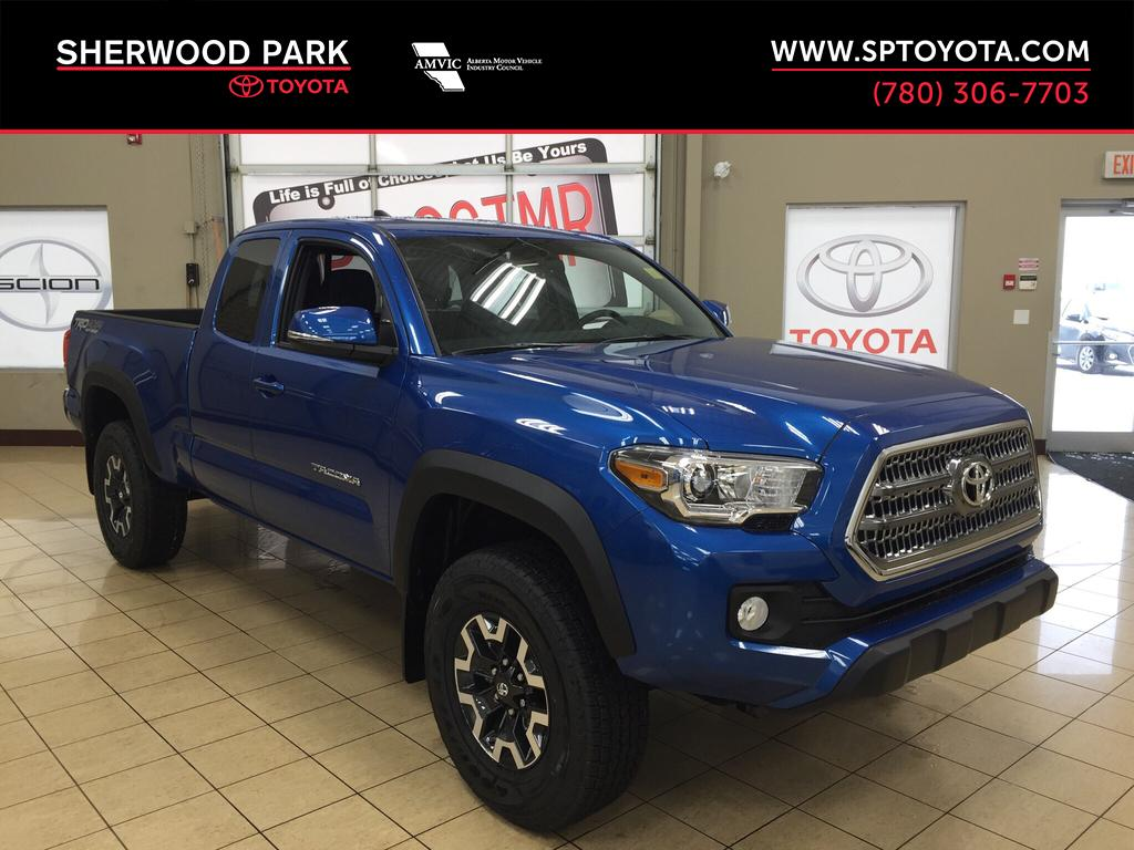 new 2017 toyota tacoma trd off road 4 door pickup in sherwood park ta77840 sherwood park toyota. Black Bedroom Furniture Sets. Home Design Ideas