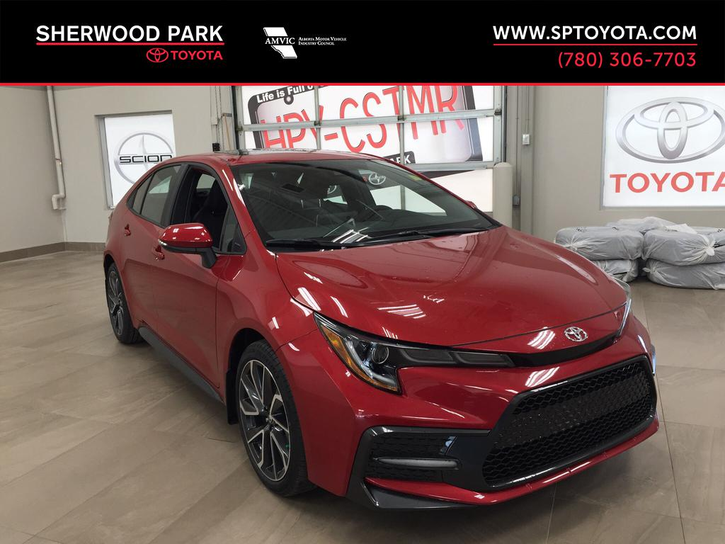 New 2020 Toyota Corolla Xse 4 Door Car In Sherwood Park Co08519