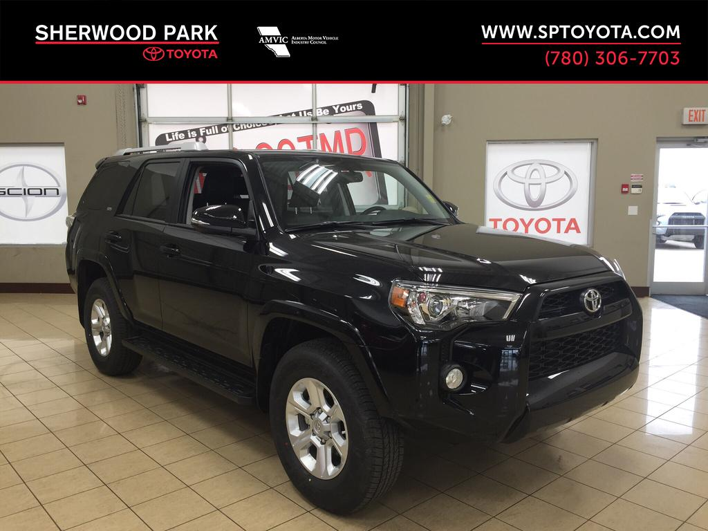new 2017 toyota 4runner sr5 4 door sport utility in sherwood park 4r75937 sherwood park toyota. Black Bedroom Furniture Sets. Home Design Ideas