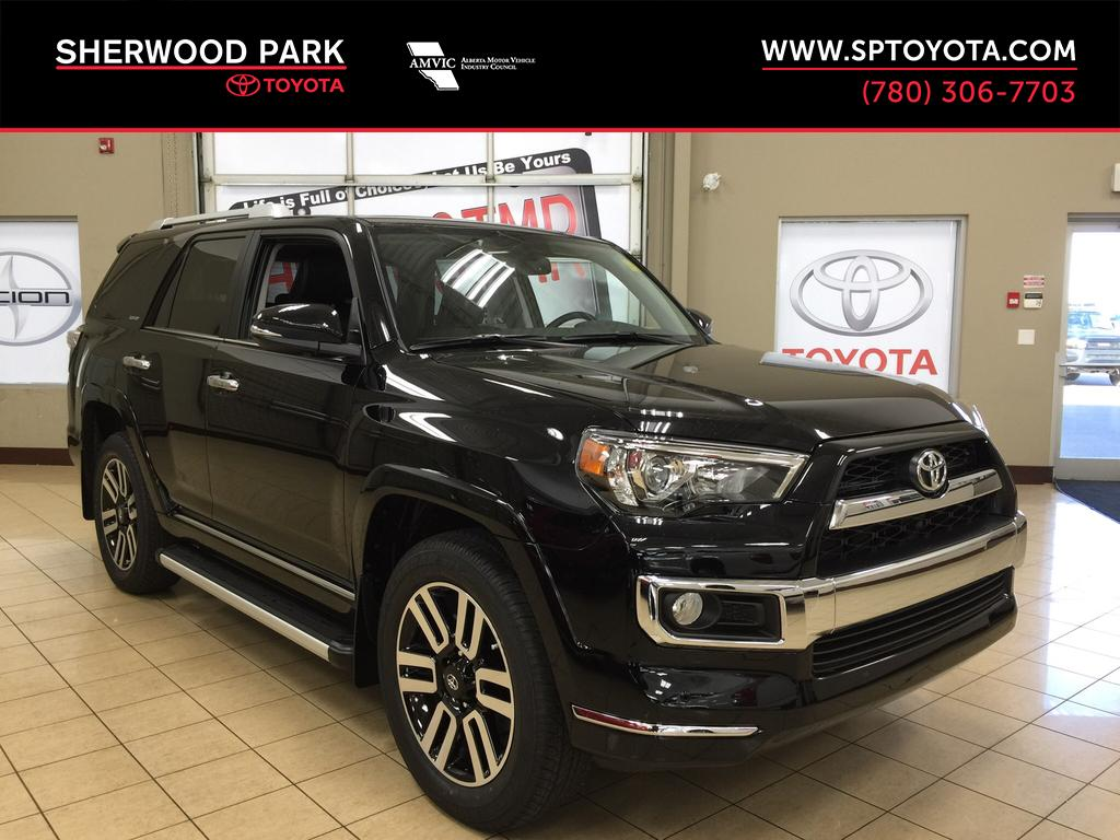 new 2017 toyota 4runner limited 4 door sport utility in sherwood park 4r72666 sherwood park. Black Bedroom Furniture Sets. Home Design Ideas