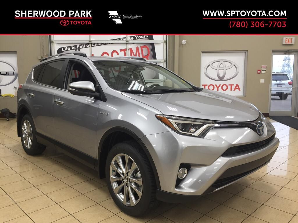 New 2017 Toyota Rav4 Hybrid Limited 4 Door Sport Utility