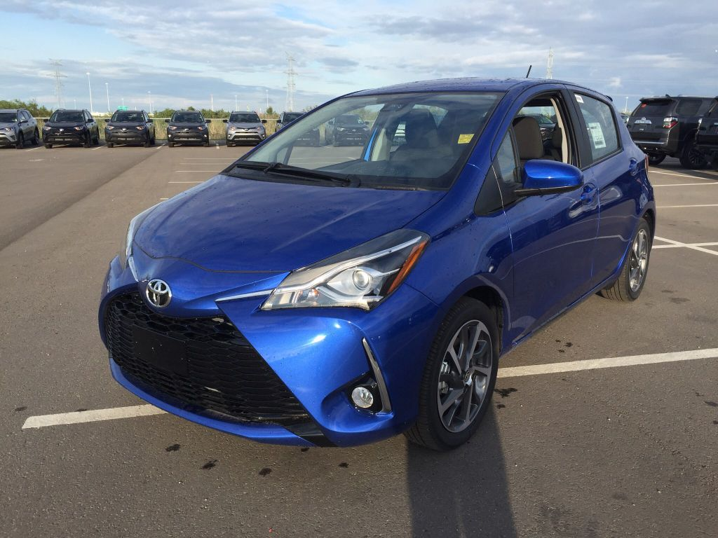 New 2018 Toyota Yaris Hatchback Se 4 Door Car In Sherwood Park