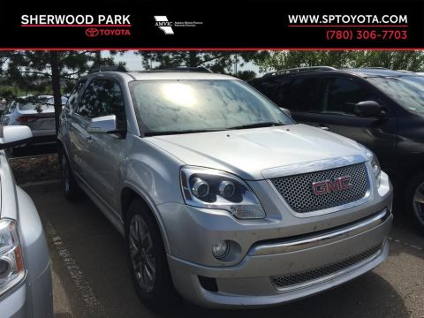 Used 2012 GMC Acadia Denali AWD All Wheel Drive 4 Door Sport Utility