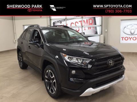 New 2020 Toyota RAV4 Trail All Wheel Drive 4 Door Sport Utility