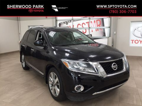 Used 2013 Nissan Pathfinder Platinum Four Wheel Drive 4 Door Sport Utility