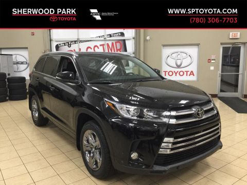 New 2018 Toyota Highlander Limited