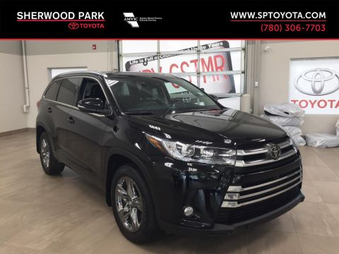 Pre-Owned 2018 Toyota Highlander Limited-Navigation, Panoramic Roof, Blind Spot Monitoring