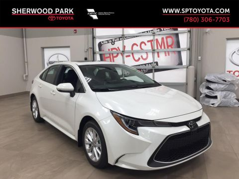 New 2020 Toyota Corolla XLE Front Wheel Drive 4 Door Car