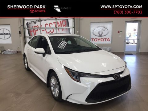 New 2020 Toyota Corolla LE Upgrade Front Wheel Drive 4 Door Car